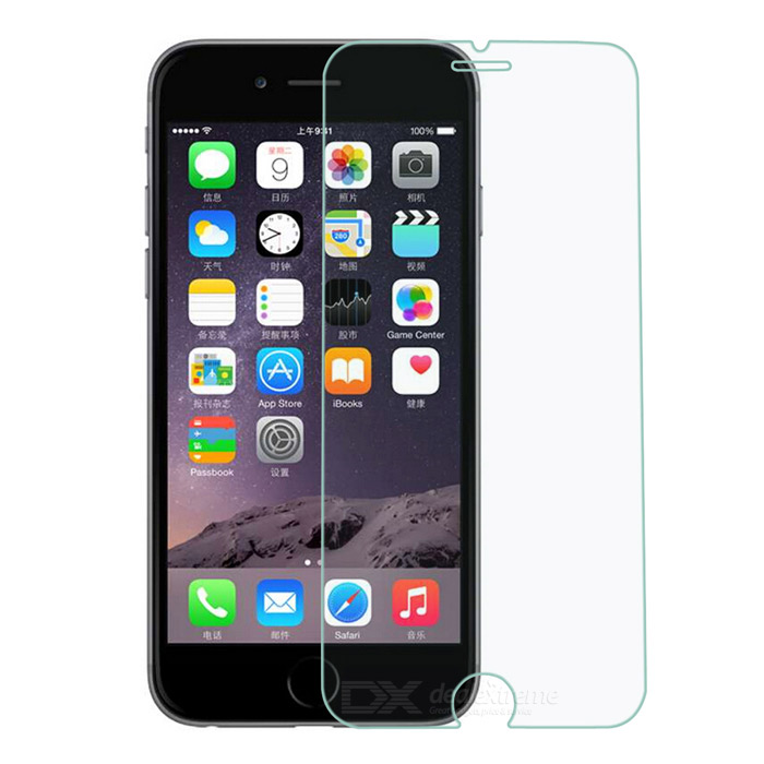 Mini sorriso filme de vidro temperado 0.26mm para IPHONE6 - transparente (2PCS)