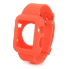 Replacement Silicone Wrist Watch Band for APPLE WATCH 42mm - Watermelon Red