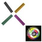 Bike Bicycle Wheel Tire Reflective Warning Spoke Clips Strips Set - Yellow + Grey + Multicolor