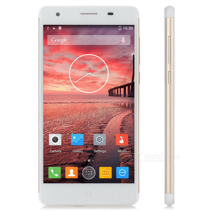 "ZOPO ZP720 Android 4.4 MTK6732 Quad-Core 4G Phone w/ 5.3"" IPS, 1GB RAM, 16GB ROM, 13.2MP Cam - Gold"