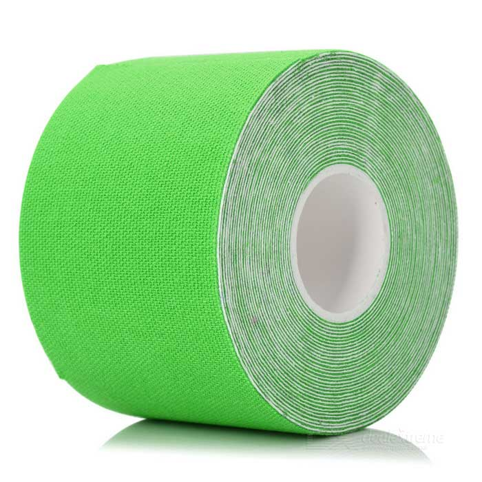 Sports Athletes Flexible Bandages Muscle Paste Roll - Green (5m)
