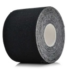 Sports Athletes Flexible Bandages Muscle Paste Roll - Black (5m)