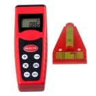 CP3000 Ultrasonic Distance Measurement Rangefinder + Lever Meter - Red + Black