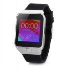 M6 GSM Watch Phone w/ 1.54'' Capacitive Screen, Quad-band, FM, BT - Black + Silver