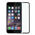 FineSource Titanium Alloy + Tempered Glass Screen Guard Protector for IPHONE 6 - Black
