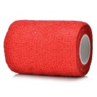 Sports Athletes Flexible Bandages Muscle Paste Roll - Red (4.5m x 7.5cm)