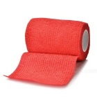 Sports Athletes Flexible Bandages Muscle Paste Roll - Red (4.5m*7.5cm)