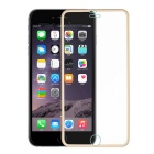 FineSource Titanium Alloy + Tempered Glass Screen Guard Protector for IPHONE 6 PLUS - Golden