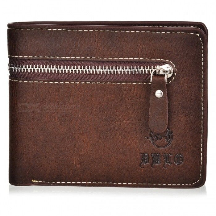 WBP858 Mens Stylish Top Layer Cowhide Purse Wallet - Light CoffeeWallets and Purses<br>Form ColorLight CoffeeModelWBP858Quantity1 DX.PCM.Model.AttributeModel.UnitShade Of ColorBrownMaterialTop layer cowhideGenderMenSuitable forAdultsOpeningOthers,Zipper CoverStyleCasualWallet Dimensions12x9.5x1.5cmOther Features2 main pockets, 1 zipper pocket, 5 card slots, 1 photo slot.Packing List1 x Purse<br>