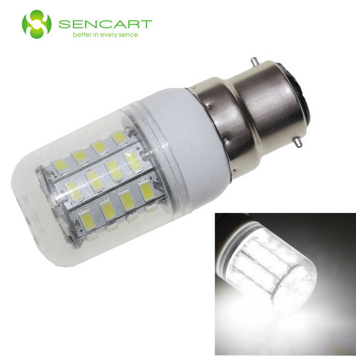 SENCART E14 8W LED Corn Light Cold White 800lm 6500K 40-SMD - White