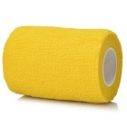 Sports Athletes Flexible Bandages Muscle Roll - Yellow (4.5m*7.5cm)