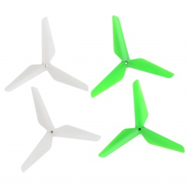 Replacement R/C 3-Blade Propeller Set for Syma X5/JJR/C - White