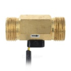 G3/4 Hall Flow Transducer / Sensor w/ 3-Wire for Water Heater + More