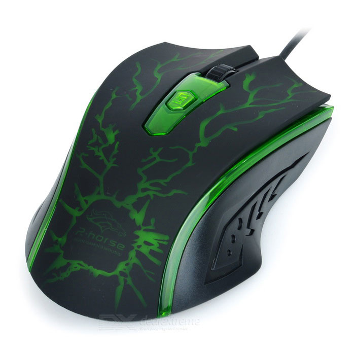 R Horse Gaming Mouse R.Horse USB 2.0...