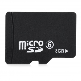 Micro SD / TF Memory Card - Black (8GB / Class 6)