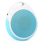 E400 Portable Bluetooth V2.1 + EDR Wireless Speaker with Lanyard & Handsfree Call - Blue + White