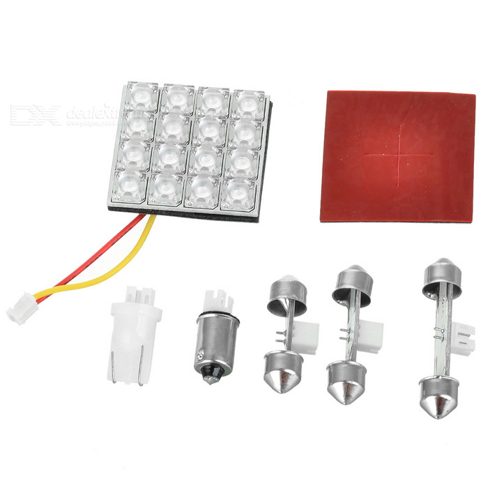 16-LED LED Door Light for Vehicles (White) Hollywood Purchase and sale of goods