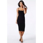 Women's Summer Fashion Sexy Cool Backless Sleeveless QMilch Dress - Black (Size L)