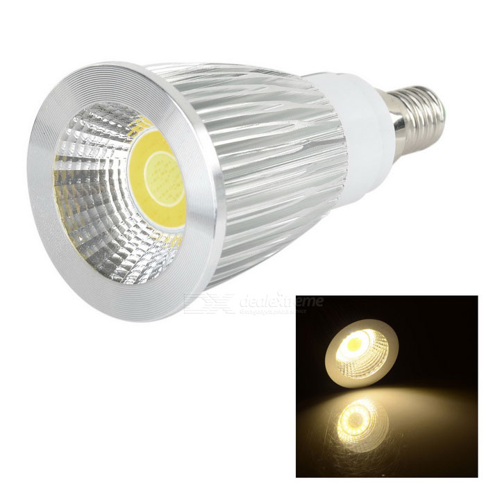 E14 9W COB 320lm Color Temperature Adjustable Spotlight (85~265V)