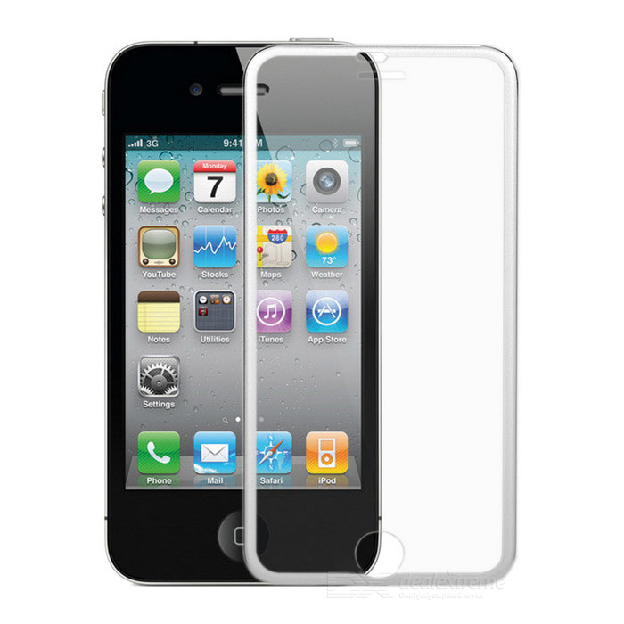 FineSource Tempered Glass Film + Frame for IPHONE 6 - Transparent