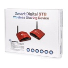 2.4G Smart STB AV Transmitter & Receiver System - White + Black