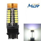 MZ 25.5W T25 Car Brake Light / Daytime Running Light White Light 48-5630 SMD + 1.5W 1-LED (12~24V)