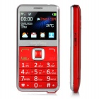 "DAXIAN GST6000 GSM Phone w/ 2.3"" Capacitive Screen, Dual SIM, FM, MP3, Flashlight for Elder - Red"
