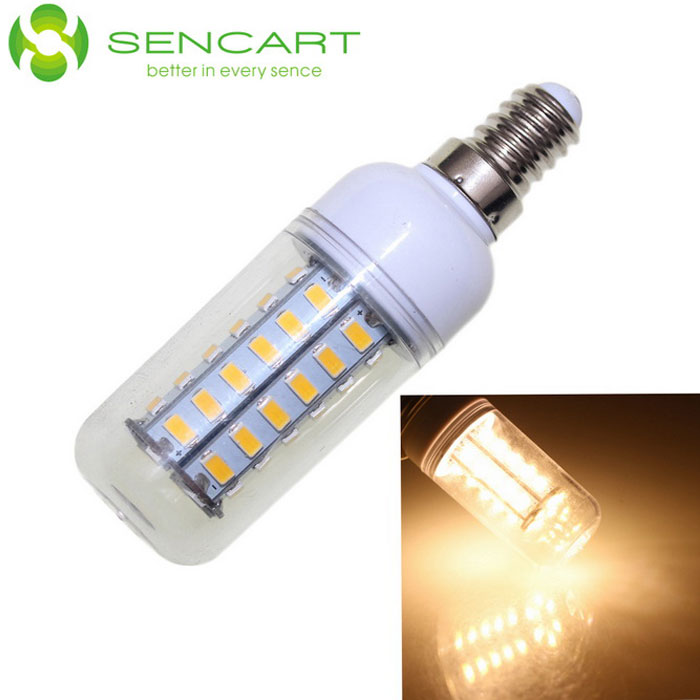 sencart e14 10w decorative warm white led 800lm corn bulb 110 240v free shipping dealextreme. Black Bedroom Furniture Sets. Home Design Ideas
