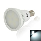 WaLangTing E14 6W 300lm COB LED Cool White Light Spotlights Bulb 7000K 15-SMD - White (110-240V)