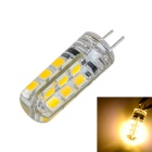 G4 2W LED Bulb Lamp Warm White Light 3000K 200lm 24-SMD 2835 (DC 12V)