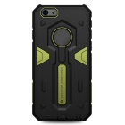 NILLKIN Stronger Series TPU + PC Back Cover Case Armor for IPHONE 6 - Black + Green