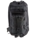 High Quality Waterproof Nylon Outdoor Traveling Backpack Bag - Black