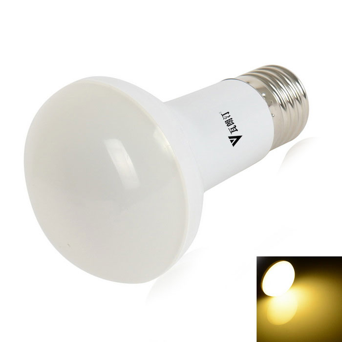 WaLangTing R63 E27 8W 400lm Zoomable 18-LED Warm White Bulb - White