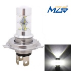 MZ H4 45W 9-XT-E LED Car Headlamp White 6500K 2250lm w/ Constant Current - Silver (12~24V)