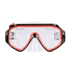 Underwater Sea Swimming / Diving Glasses Mask for GoPro Hero 4 / 3+ / 3 / 2 / 1 + More - Red