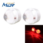 MZ 3W 180lm 1LED Car Daytime Running Light / Fog Lamp / Backup Light Red Flashing Light Lens 12V