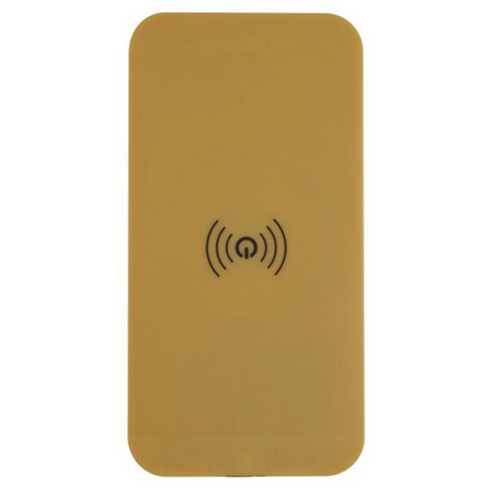 Ultrathin A9 Qi Wireless Charger for Cellphone - Golden