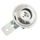 CARKING DC 12V/15A 110dB Motorcycle Metal Warning Loud Horn - Silver