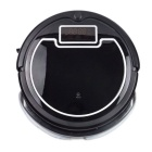 3-in-1 Cleaning Mopping Intelligent Robot Vacuum Cleaner w/ Water Tank - Black (EU Plug)