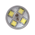 MZ 9006 40W XT-E 8-LED Car Front Fog Lamp White 6500K 2000lm - Silver