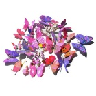 PVC 3D Simulation Butterfly Wall Stickers Decals - Multicolor (12PCS)