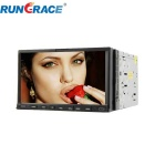 Rungrace RL-206DNAR03 7-Inch 2-Din TFT Screen In-Dash Car DVD Player w/ Bluetooth, RDS, ATV - Black