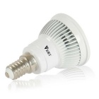 WaLangTing E14 6W 300lm Dimbar Spotlight Bulb Cool White 15-SMD LED