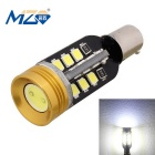 MZ BA9S 13W 24-SMD 2835 + 1W 1300lm Decode LED Car Backup Light White 6500K (12~18V)
