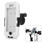 Waterproof Anti-Shock Protective Full Body Touch Case w/ Bike Clamp Mount for IPHONE 6 - White