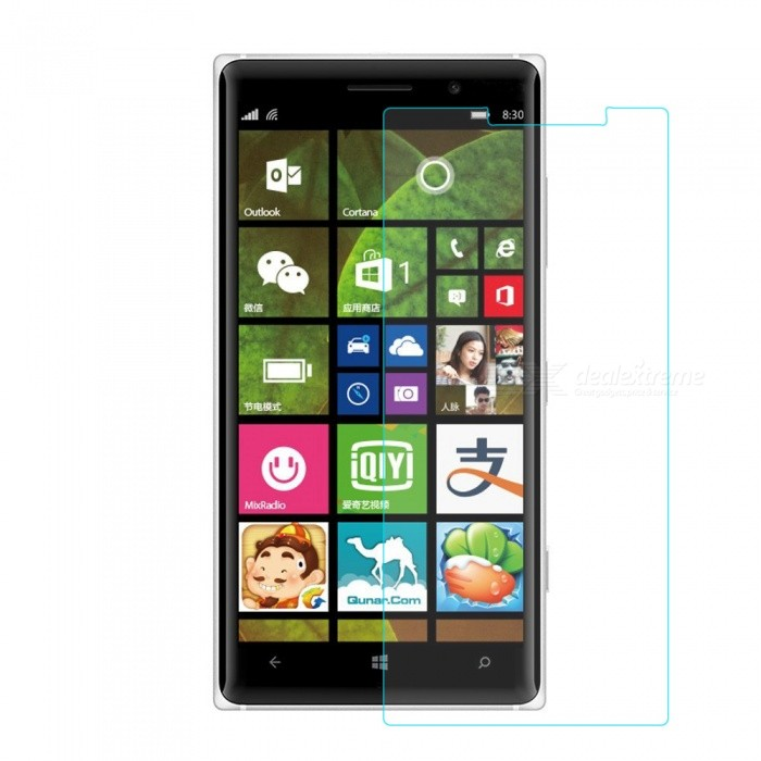 Mr.northjoe 0.3mm 2.5D 9H Tempered Glass Screen Guard Protector for Nokia Lumia 830