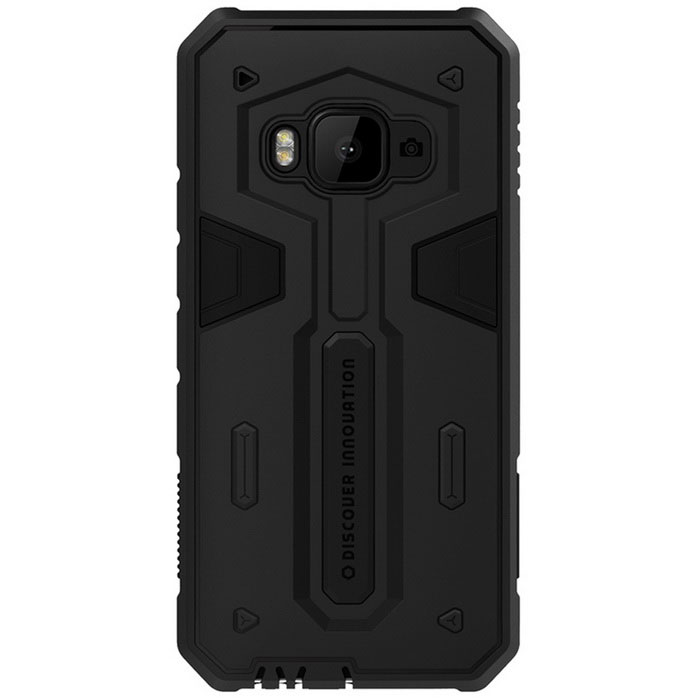 NILLKIN Stronger II Series TPU + PC Back Cover Case Armor for HTC One M9 - Black