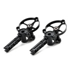 HD Aerial Photography Quadcopter Motor Bases for H16 / H16-5 / H16-1 - Black (2 PCS)