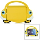 2-in-1 Protective Silicone Back Case + Screen Protector Set for IPAD MINI 1 / 2 / 3 - Yellow