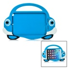 2-in-1 Protective Silicone Back Case + Screen Protector Set for IPAD MINI 1 / 2 / 3 - Blue